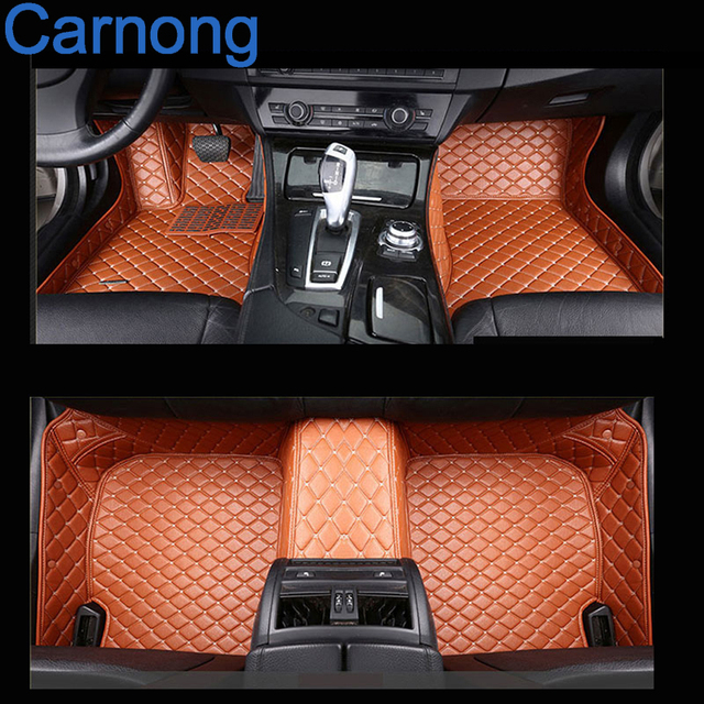 Suv Floor Mats >> Us 180 0 Carnong Car Floor Mat Leather Fit For Honda Crv Suv Left Wheel Driving 2004 2016 Car Interior Accessory Mat In Floor Mats From Automobiles