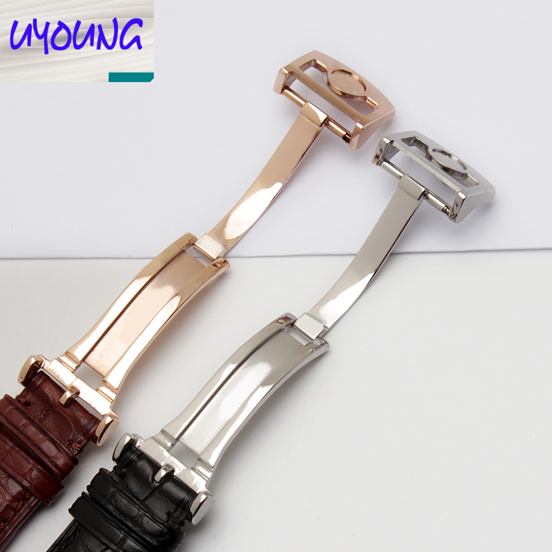Uyoung bracelet de montre bracelet Alligator Adaptation iw371446 20mm + peau de crocodile naturel outils gratuits - 4