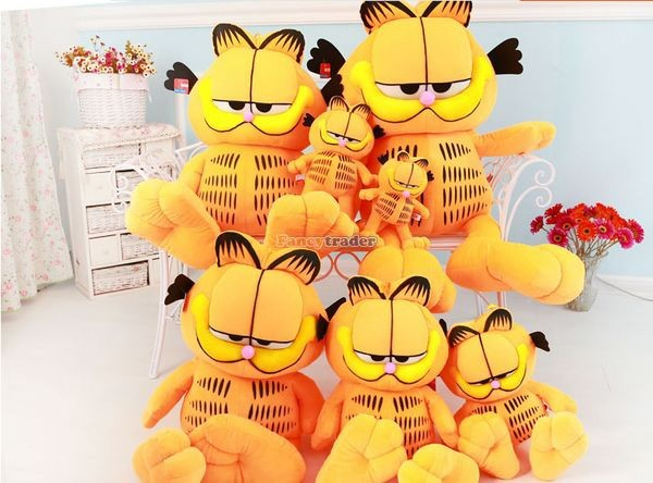 Fancytrader 49\'\' 125cm Super Funny Big Stuffed Soft Plush Lovely Giant Garfield Cat, Free Shipping FT50713 (5)