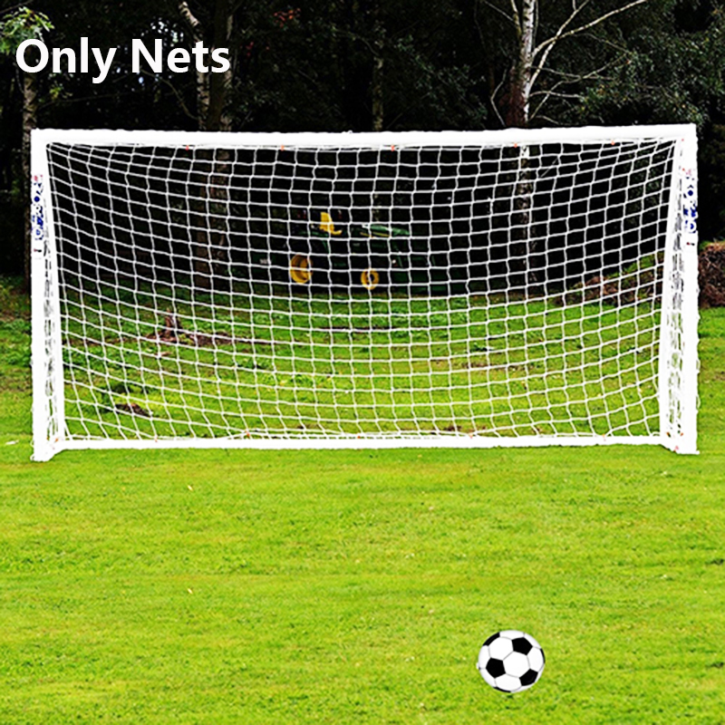 Portable Football Net 3X2M Soccer Goal Post Net Rusia World Cup 2018 Gift Football Accessories Outdoor Sport Training Tool mini kompas sleutelhanger