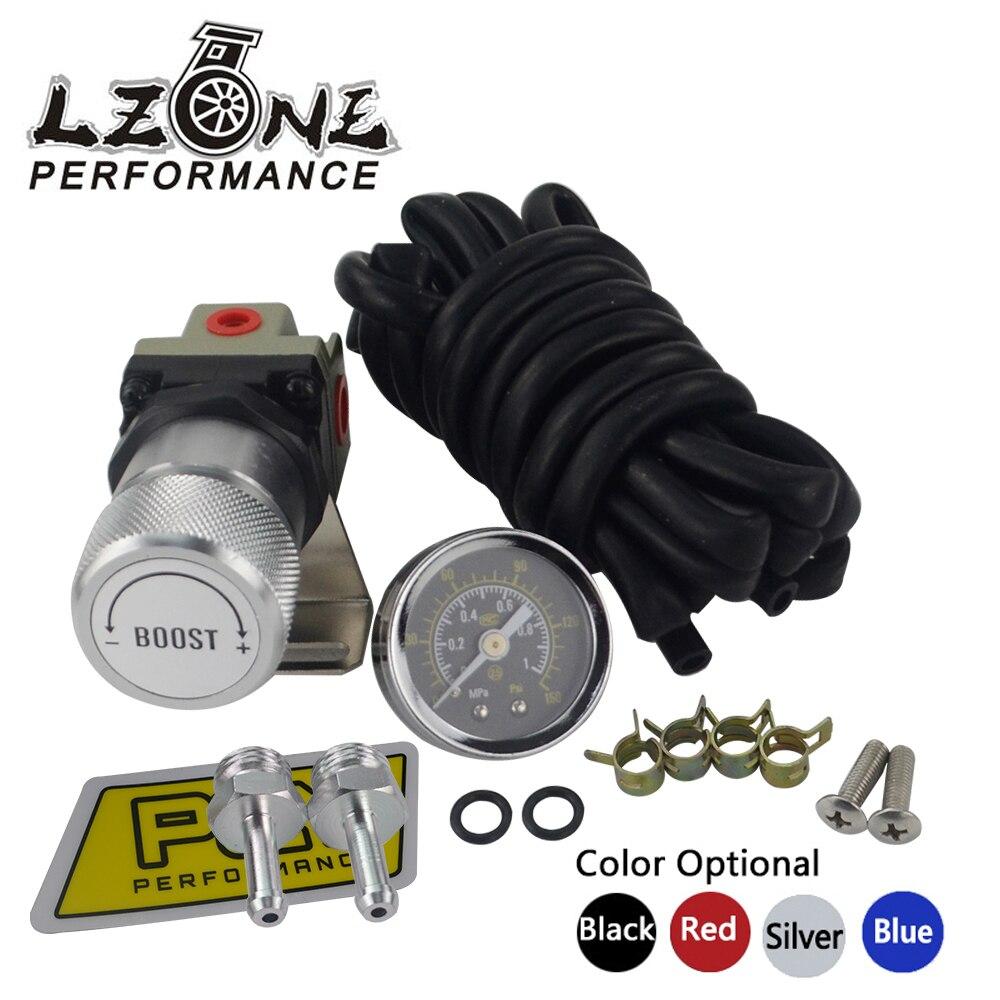 LZONE - T2 UNIVERSAL ADJUSTABLE MANUAL GAUGE TURBO BOOST CONTROLLER 1-150 PSI SR20DET SR JR5811