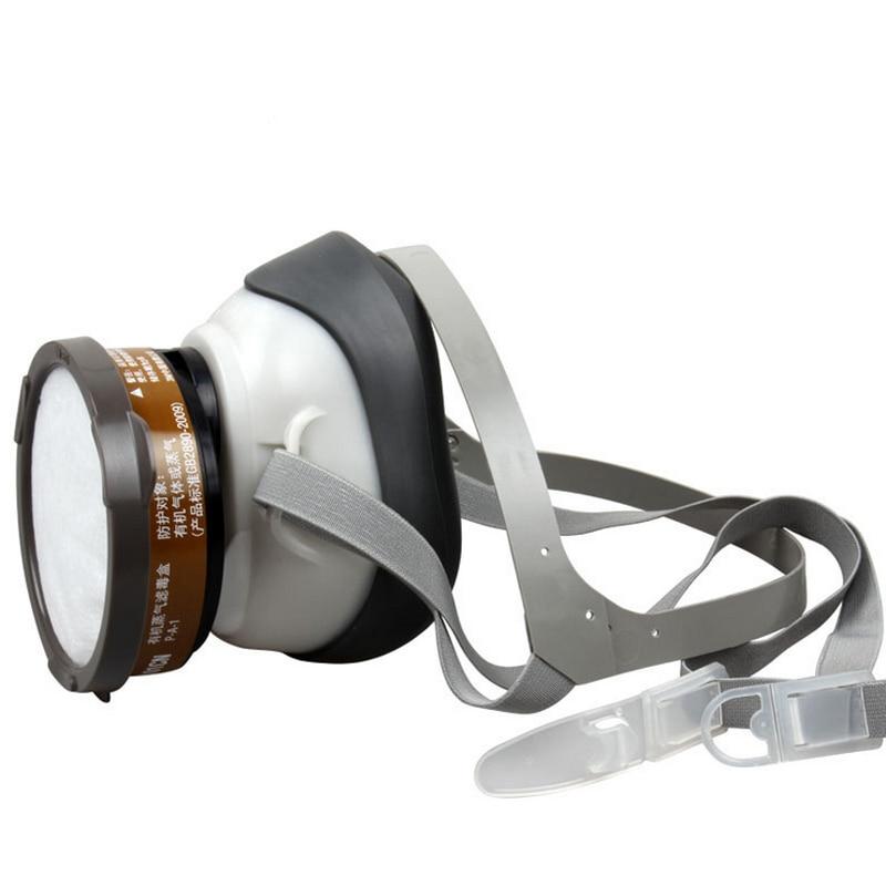 3 M 1201 Yarım yüz Toz gaz maskesi karşı Organik Gaz Maskesi - Güvenlik ve Koruma - Fotoğraf 2
