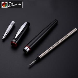 Image 5 - Montmartre Lujo Smooth Firma Pimio Roller Ball Pen con 0.7mm de Recarga de Tinta Negro Bolígrafos con Original Caja de Regalo Libre gratis