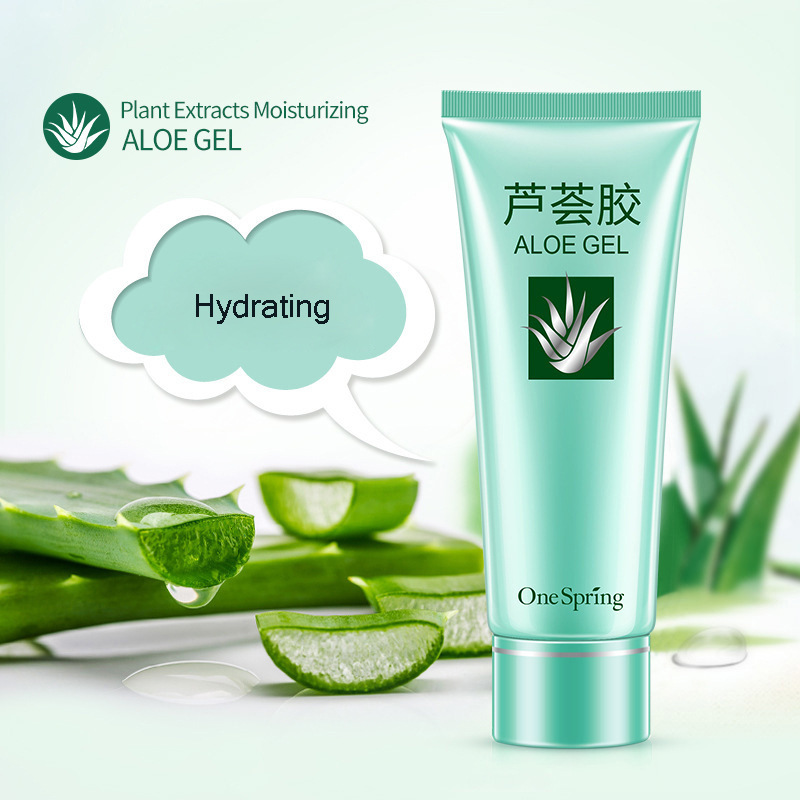 39f10647712 טיפוח העור Aloe Vera Gel Face Cream Anti-wrinkle Cream Repair After-sun  Acne Anti-aging Anti-inflammatory Relieving Itching Removes Pigment