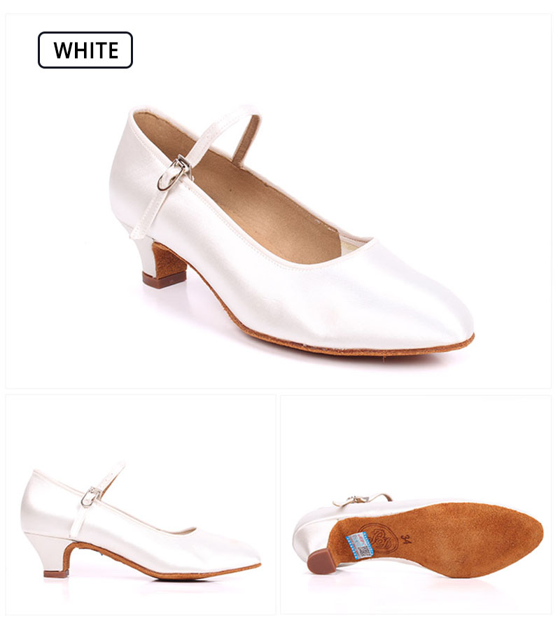9b39b4c0d1 BIG SALE] Girl Standar Dance Shoes BD 501 Satin Style Girls Ballroom ...