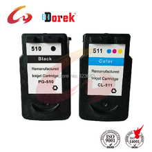 free shipping 3 Set Ink Cartridge for Canon PG 510 CL 511 for Canon MP270 printer inkjet