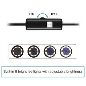Image 4 - 2019 新加入 3 1 で半硬質 usb ボアスコープ検査カメラ 2.0MP IP67 防水ヘビカメラ 8 led アンドロイドウィンドウズ