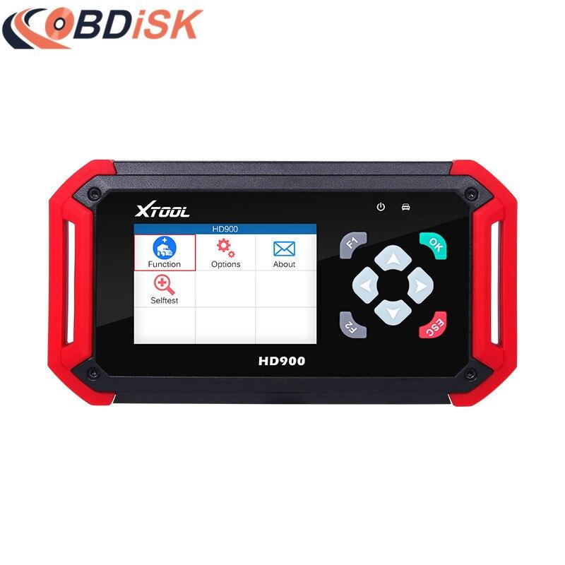 Original XTOOL HD900 Eobd2 OBD2 CAN BUS Auto Heavy Duty Diagnostic Scanner Code Reader XTOOL HD900 Code Reader  цены
