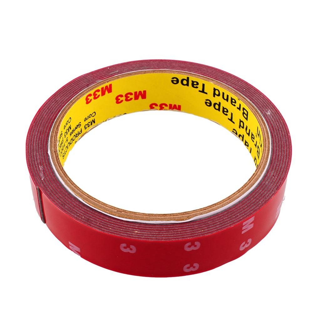 Strong Permanent  3M Double Sided Acrylic Foam Adhesive Tape Versatile Car Auto Truck Craft 10mm 20mm Free Shipping 10m super strong waterproof self adhesive double sided foam tape for car trim scotch