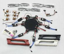 F05114-M Drone Helicóptero F550 FlameWheel Kit Con QQ SÚPER Tarjeta de Control ESC Motor De Fibra De Carbono Hélices