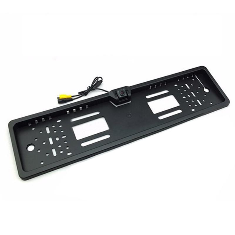 Автомобильная камера заднего вида для SONY CCD HD, универсальная камера заднего вида с рамкой для номерного знака в европейском стиле, ночное ви...
