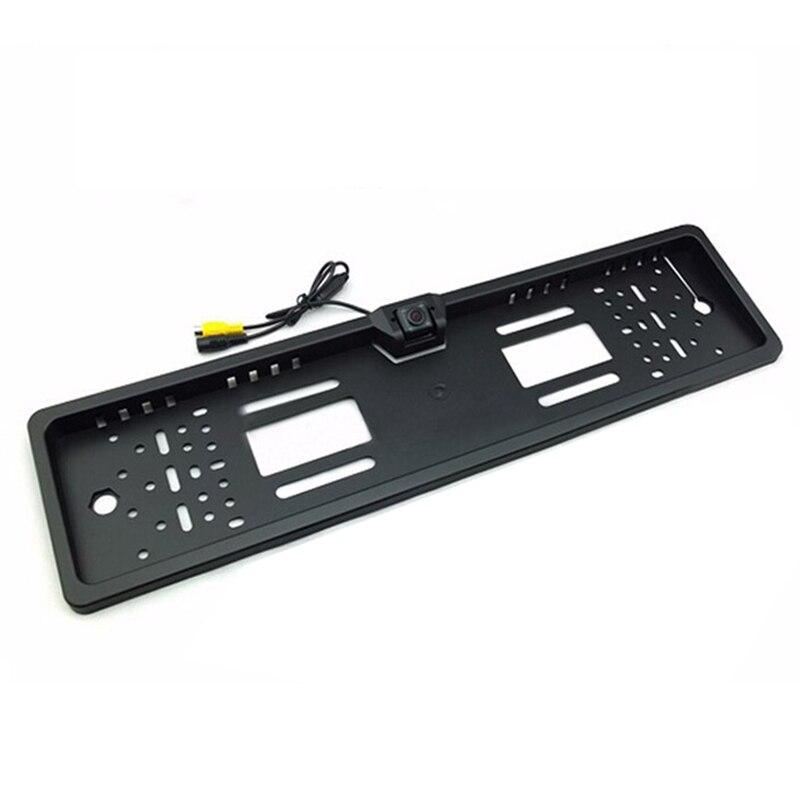 Для SONY CCD HD Автомобильная камера заднего вида, универсальная камера заднего вида, Европейская Рамка для номерного знака, ночное видение со светодиодами, камера