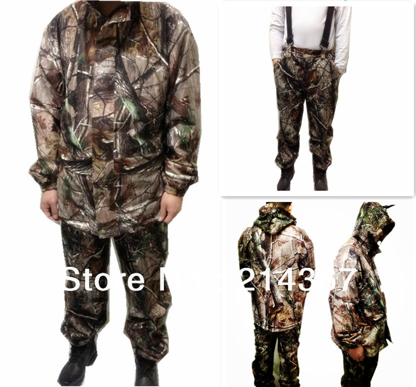 Windproof Realtree Camouflage Suits Wild Hunting Clothing OEM Vision windproof realtree camouflage suits wild hunting clothing oem vision