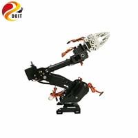 DOIT DoArm S8 8DoF Stainless Steel Metal Robot Arm/hand Robotic Manipulator ABB Arm Model Claw for Arduino WiFi kit