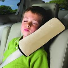 Автомобильный для маленьких детей Защитный ремень автомобильные ремни Подушка Защитная подкладка под плечо Защитные Чехлы Подушка поддержка салона автомобиля