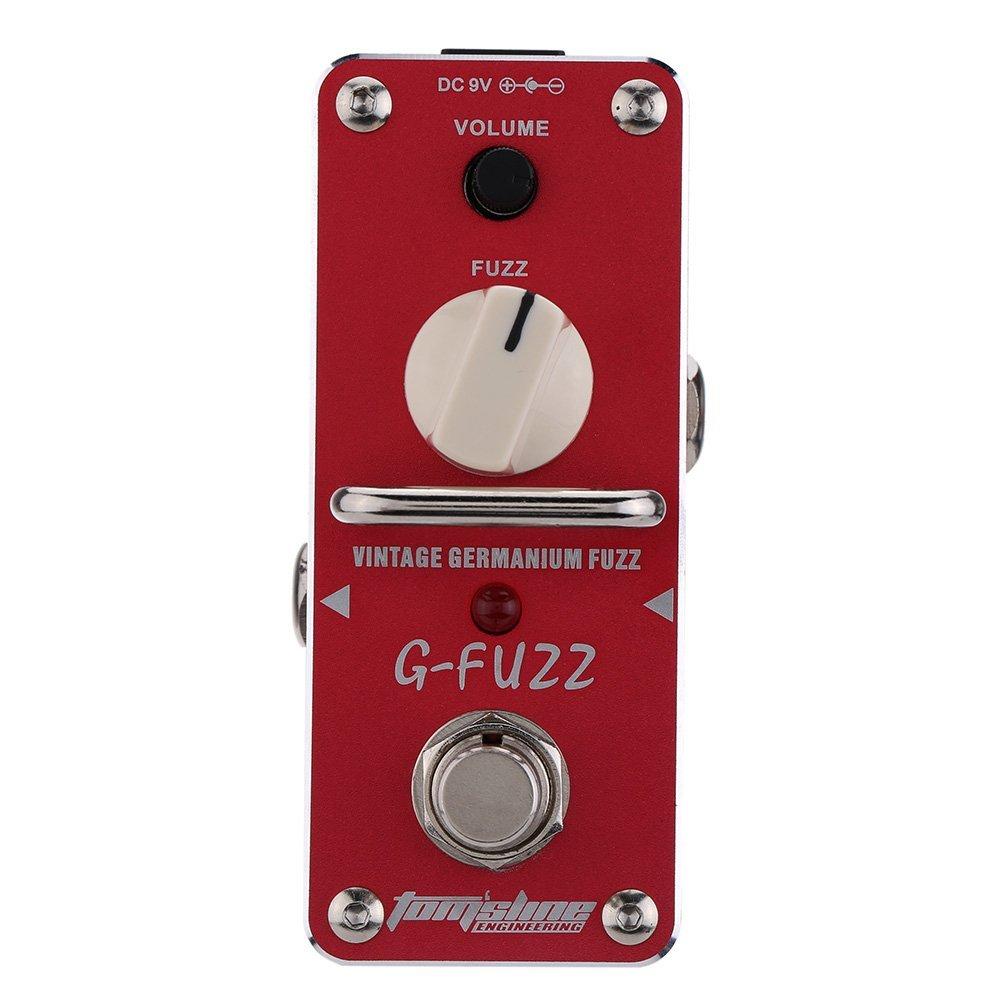 AROMA AGF 3 G FUZZ Guitar Pedal Vintage Germanium Fuzz Guitar Effect Pedal Mini Analogue True