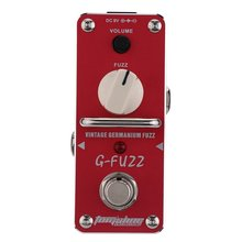 AROMA AGF-3 G-FUZZ Guitar Pedal Vintage Germanium Fuzz Guitar Effect Pedal Mini Analogue True Bypass Guitar Parts & Accessories цены