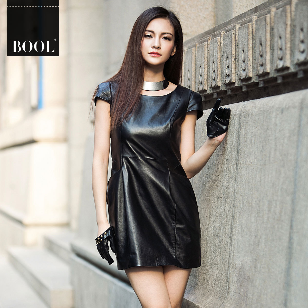 Women In Leather Skirts - Skirts