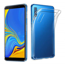 1f066521182 For Samsung Galaxy A7 2018 A750F SM-A750F Case Clear Transparent Ultra Thin  Soft TPU