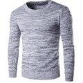 2016 Novos Homens Da Marca De Lã Camisola Outono Inverno O-pescoço Grosso Kintwear Pullover Natal Dos Homens Blusas de Alta Qualidade