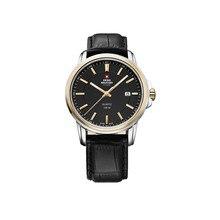 Наручные часы Swiss Military SM34039.10 мужские кварцевые на кожаном ремешке