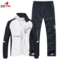 Men's Sportswear Patchwork sportSuits Outwear Brand superstar Tracksuits Hoodies and Sweatshirts For Men clothing+Pants Plus 5XL
