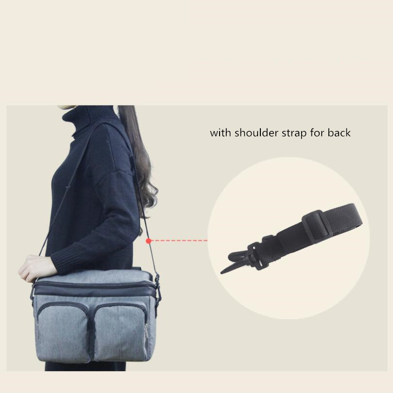 Image 2 - Baby Stroller Bag Diaper Bags Nappy Stroller Organizer Mom Travel Hanging Carriage Pram Buggy Cart Bottle Bag Stroller Accessori-in Diaper Bags from Mother & Kids