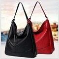 New Arrival Quality PU Leather Women Shoulder Bag Handbag Big Designer Tote Bag Red Black