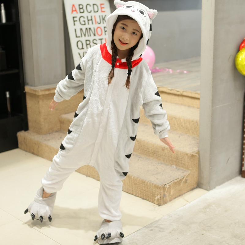 Kid Baby Boys Girls Frog Cheese cat Panda Cosplay Onesie Pajama sets Winter Sleepwear Party dress Cartoon Animal Hooded Costume одежда на маленьких мальчиков
