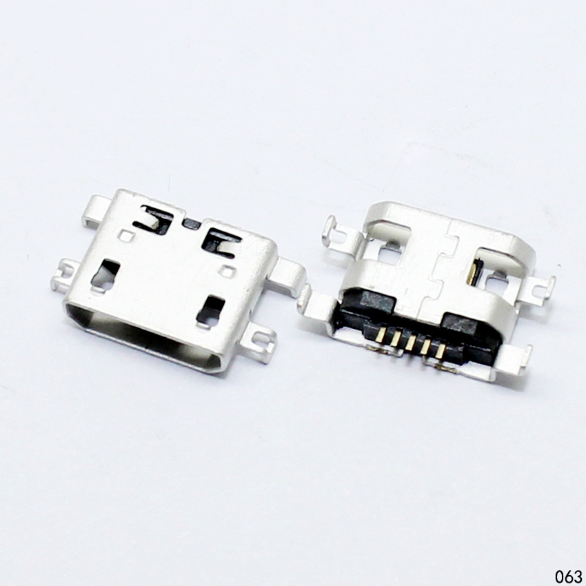 Micro USB 5pin B Type Female Connector For Mobile Phone Micro USB Jack Connector 5 pin Charging Socket Sell At A Loss 10pcs micro usb 5pin b type female connector flat mouth jack 0 8 connector for mobile phone charging socket usb 4