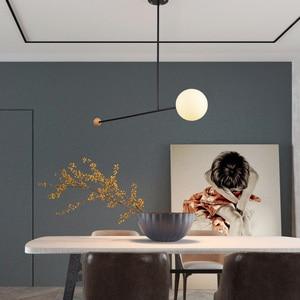 Image 4 - Artpad Creative נברשת תאורה E14 תקרת מוט תליית אור אוכל חדר שינה סלון בית גופי תאורה