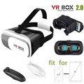 3D Виртуальной Реальности VR Box II 2.0 Очки Гарнитура Шлем для 3.5 ~ 6 Дюймов Android-Телефон Samsung Galaxy S7 Edge + Bluetooth Remote