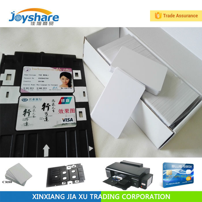 4600pcs Inkjet Pvc Plastic Card for Epson printer T60 T50 R280 R380 A50 P50 R260 R265 R270 pvc id card tray plastic card printing tray for epson p50 l800 l801 r330 r260 r265 r270 r280 r290 r380 r390 rx680 t50 t60 a50