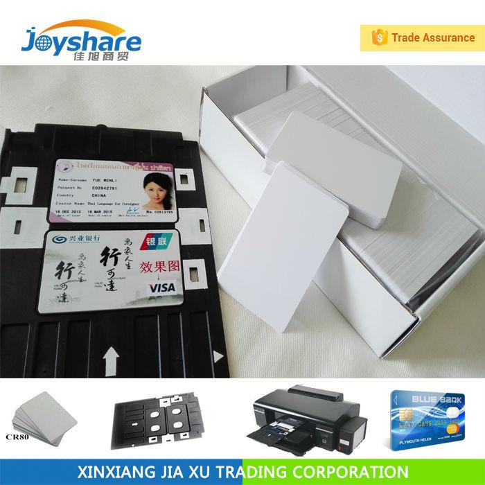 4600pcs Inkjet Pvc Plastic Card for Epson printer T60 T50 R280 R380 A50 P50 R260 R265 R270 230pcs lot printable blank inkjet pvc id cards for canon epson printer p50 a50 t50 t60 r390 l800