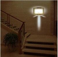 3pcs Lots Human Sensor Night Lights Human Body Auto Motion Light Sensor Induction Wall Night Lamp