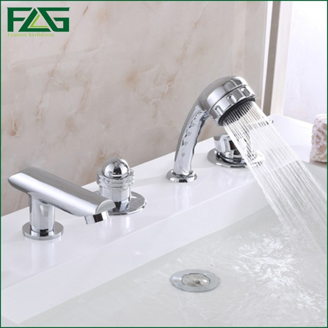 FLG Eurostyle Cosmopolitan Bath Faucet With Hand Shower Set ...
