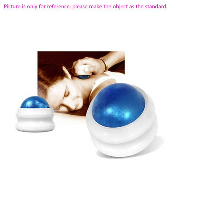цена на Health Care Manual Massage Ball Anself Back Roller Massager Pain Relief Body Secrets Massage Roller Relax Ball