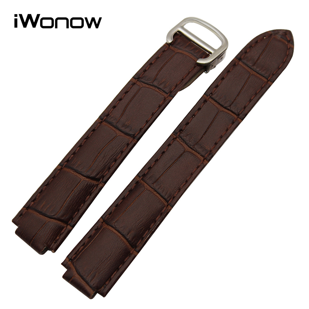 Genuine Cow Leather Watchband for Blue Balloon Men Women Watch Band Steel Buckle Strap Wrist Bracelet 18x11mm 20x12mm 22x14mm top layer cowhide genuine leather watchband for swatch men women watch band wrist strap replacement belt bracelet 17mm 19mm 20mm