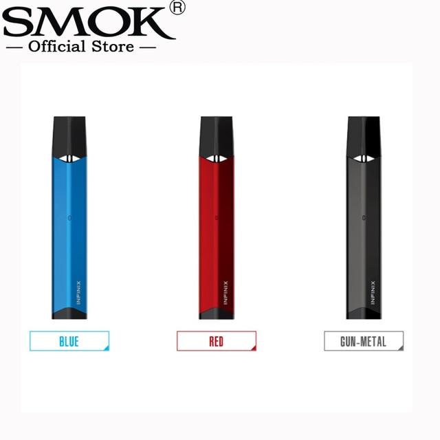 Original SMOK Infinix Kit 250mah Built-in Battery 2ml Pod Electronic Cigarette All in One Pod Vape VS SMOK FIT KIT Vape Pen 22