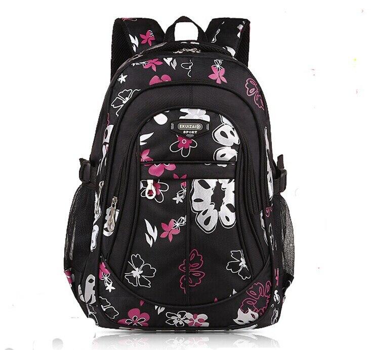 Новый 2016 детей школьного сумки для девочек рюкзаки цветок свободного покроя сумка начальной школы рюкзаки малыш сумка Mochila эсколар