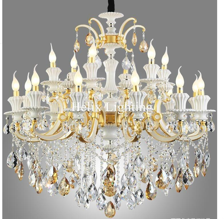 Jaunas ierašanās luksusa nefrīta lustras D105cm cinka sakausējuma - Iekštelpu apgaismojums - Foto 4