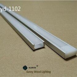 20-80 mt/los 10-40 stücke von 2 m 80 inch/pc aluminium profil für led-streifen, schlank led kanal für 8-11mm streifen, led bar licht track