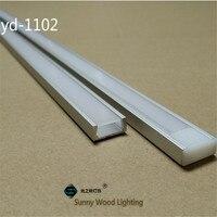 20 80m/lot 10 40pcs of 2m 80inch/pc aluminum profile for led strip,slim led channel for 8 11mm strip, led bar light track