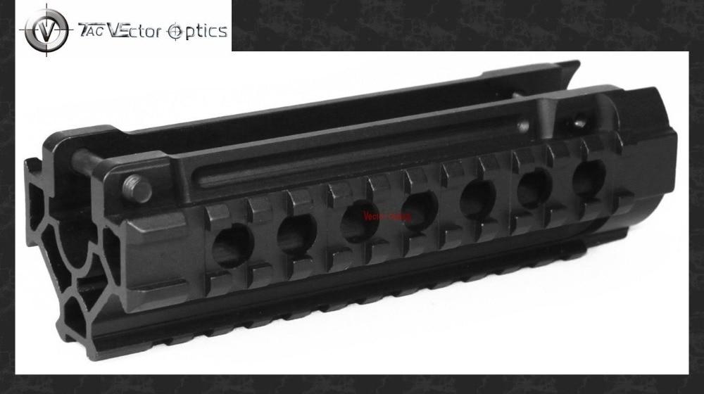 цена Vector Optics Tactical MP5 H&K 3-Rails One-piece Handguard Picatinny Rail Mount System