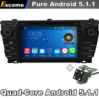 Android 4 2 2 8 Capacitive Screen Car DVD Player For Toyota Corolla 2014 2013 3G