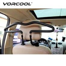 VORCOOL автомобильные вешалки для сидений, подголовник для автомобильного сиденья, держатель для одежды, подставка, куртки, сумки, вешалки для пальто, держатель, крюк, автомобильные аксессуары