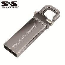 Suntrsi usb flash 128 Гб 64 ГБ флеш-накопитель высокоскоростной 32 Гб usb флеш-накопитель Водонепроницаемая ручка usb 16 ГБ 8 ГБ 4 ГБ металлический логотип под заказ