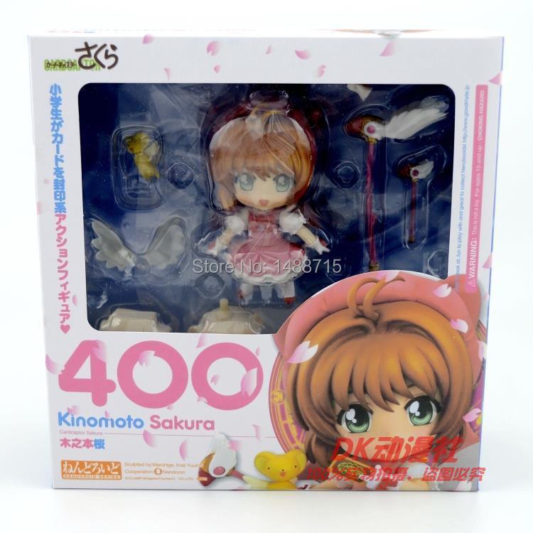 ᐂNuevo Hot Nendoroid #400 comic anime Sakura cardcaptor kinomoto ...