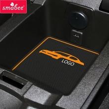 Gate slot pad For Chevrolet camaro 2012-2016  Accessories,3D Rubber Car Mat CAMARO RS Black&yellow 7PCS