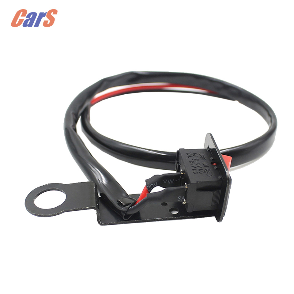 small resolution of motorcycle switch fixed wiring harness fixed on bracket of rearview mirror for motorcycle switche electromobile car styling in car switches relays from